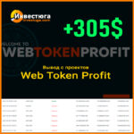 Отчет по работе с Web Token Profit | Февраль 2021